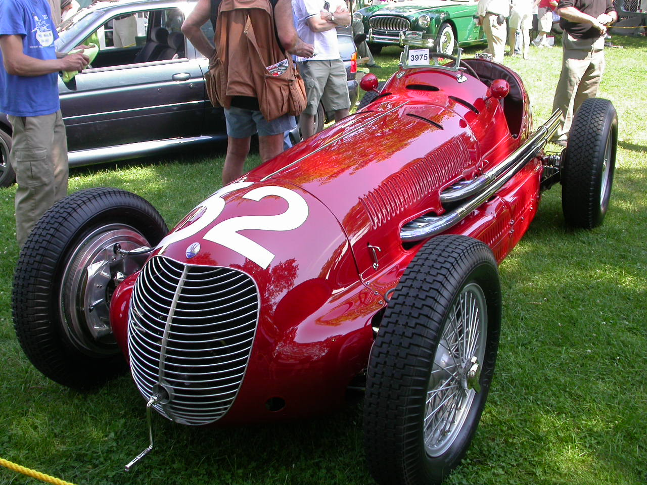 Maserati Grand Prix Race Car