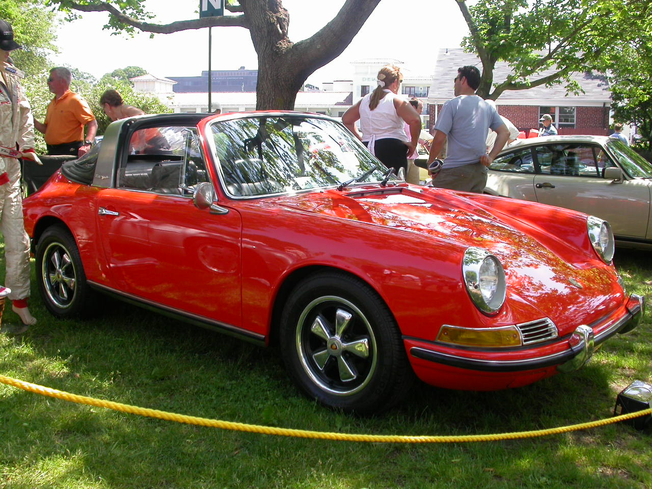 Porsche 912 Targa Softwindow