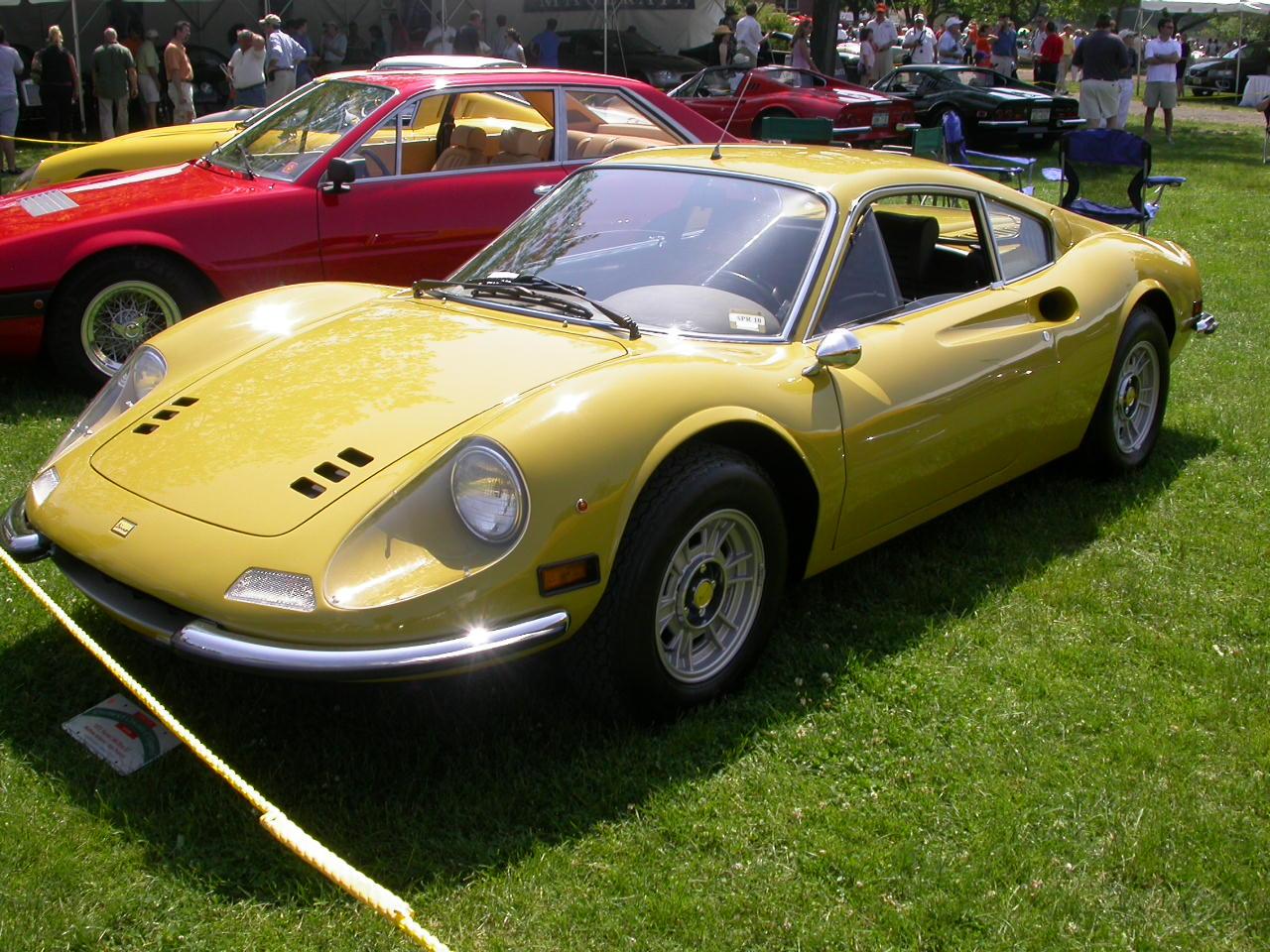 Ferrari Dino Greenwich Concours