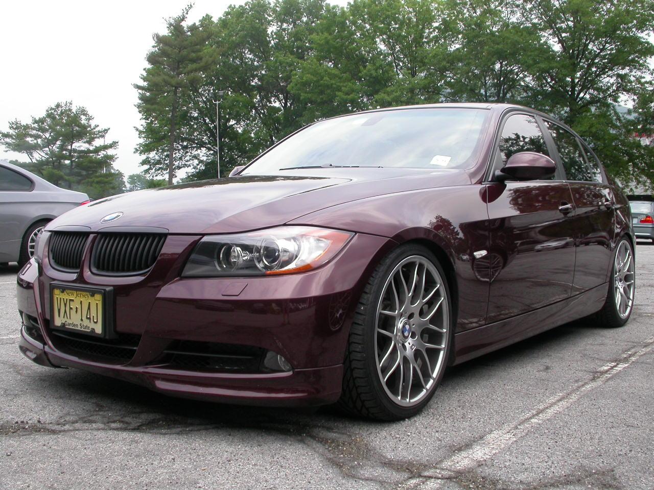 BMW 335i Maroon