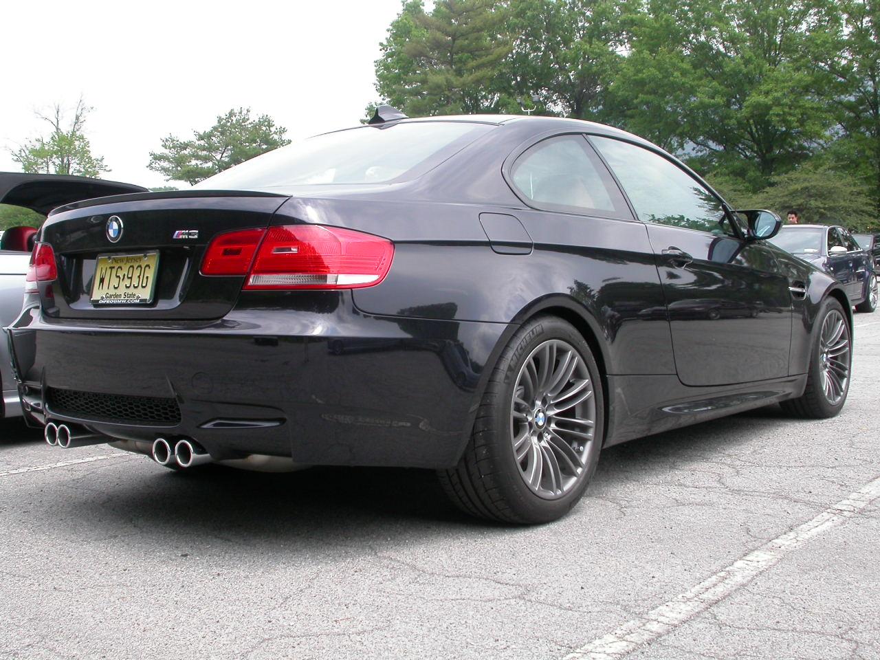 Black E92 M3