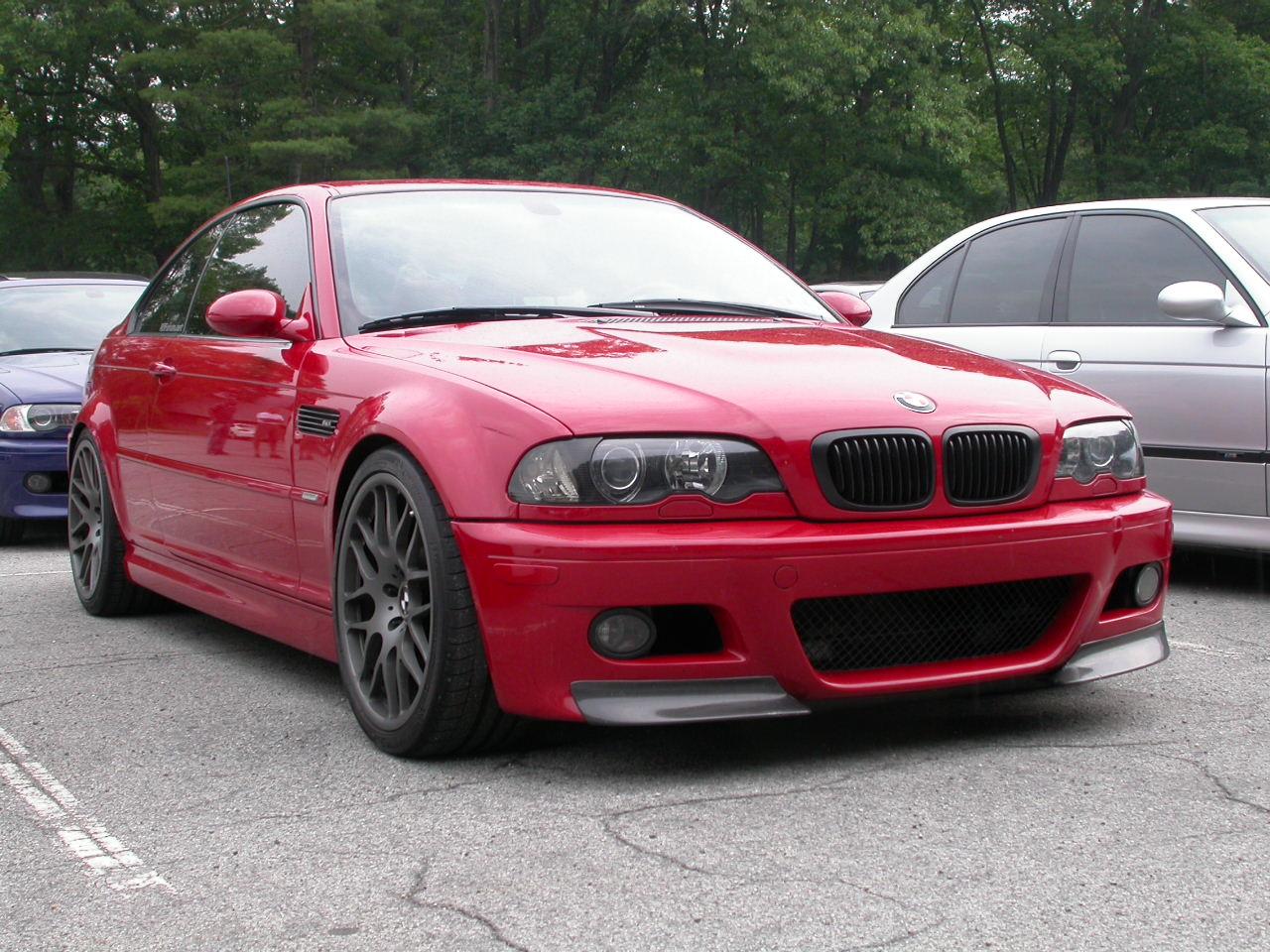 Red E46 M3