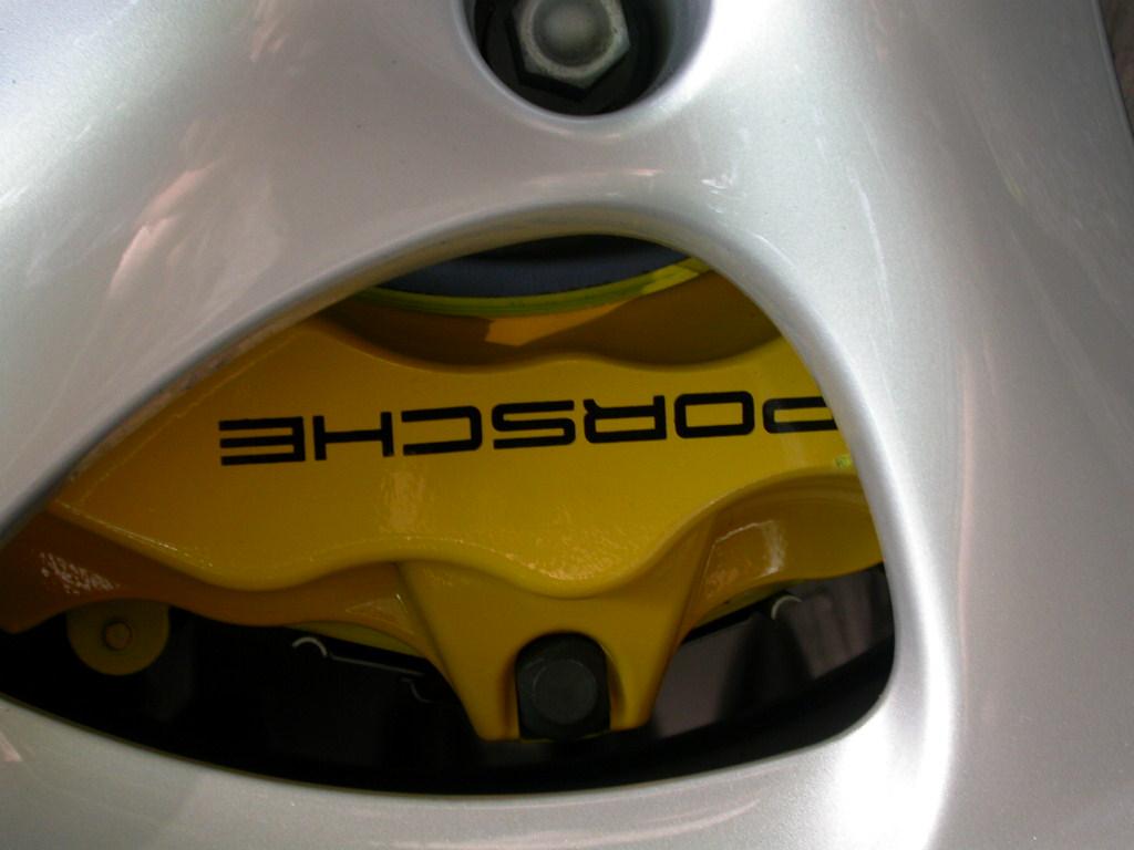 Porsche Performance Brakes