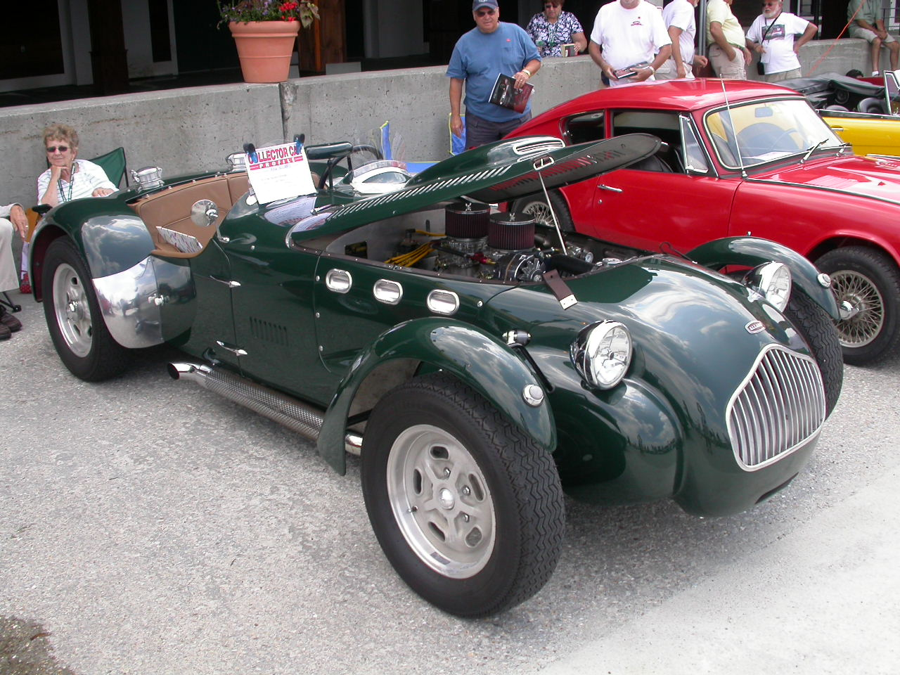 Antique Sports Cars Allard race car