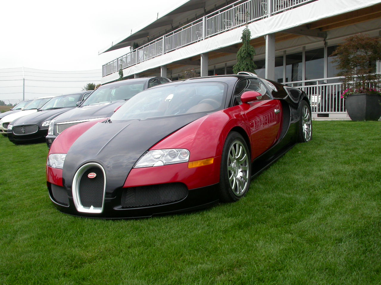 Bugatti Veyron at Monticello
