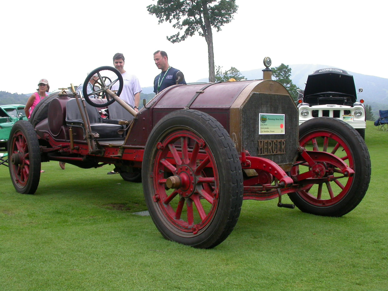 Concours of Antique cars,