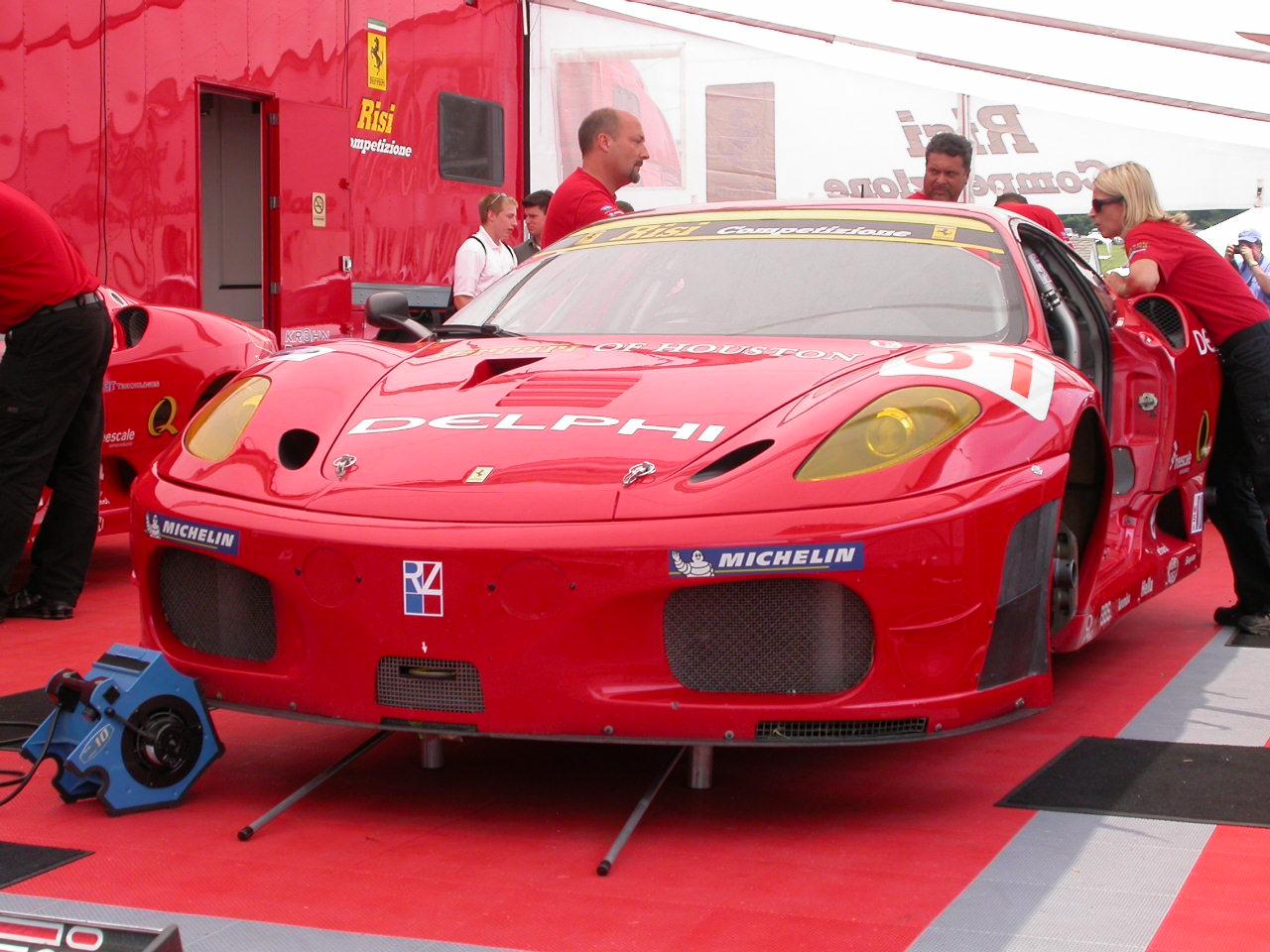 Risi Ferrari Lime Rock Le Mans
