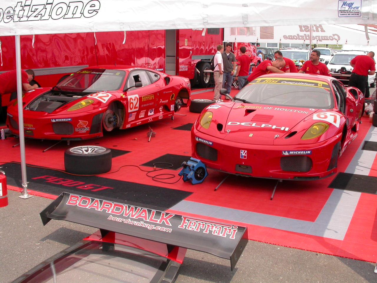 Risi Competizione Ferrari Team
