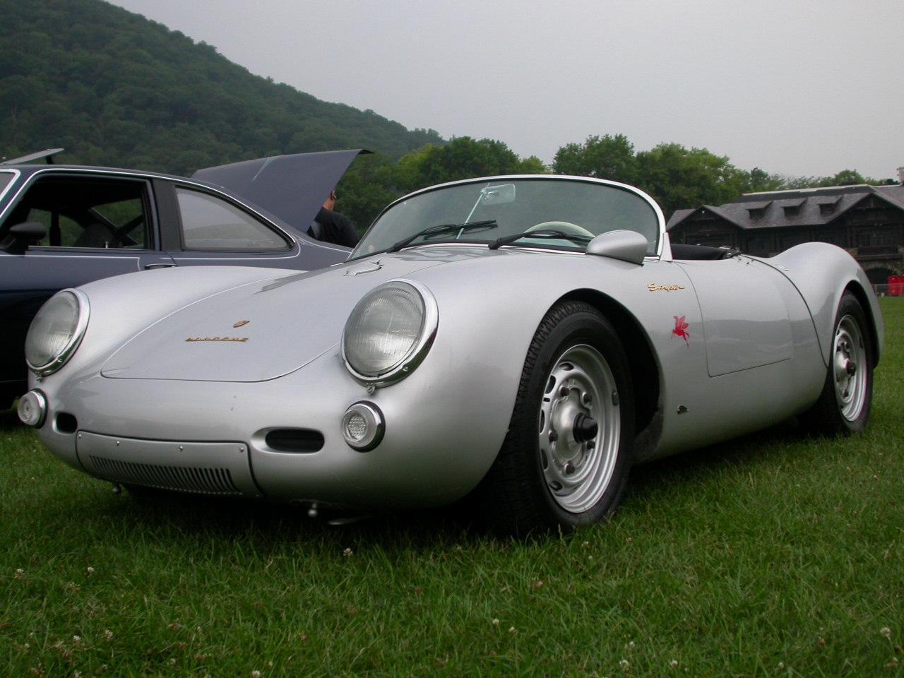 Porsche Spyder - Silver