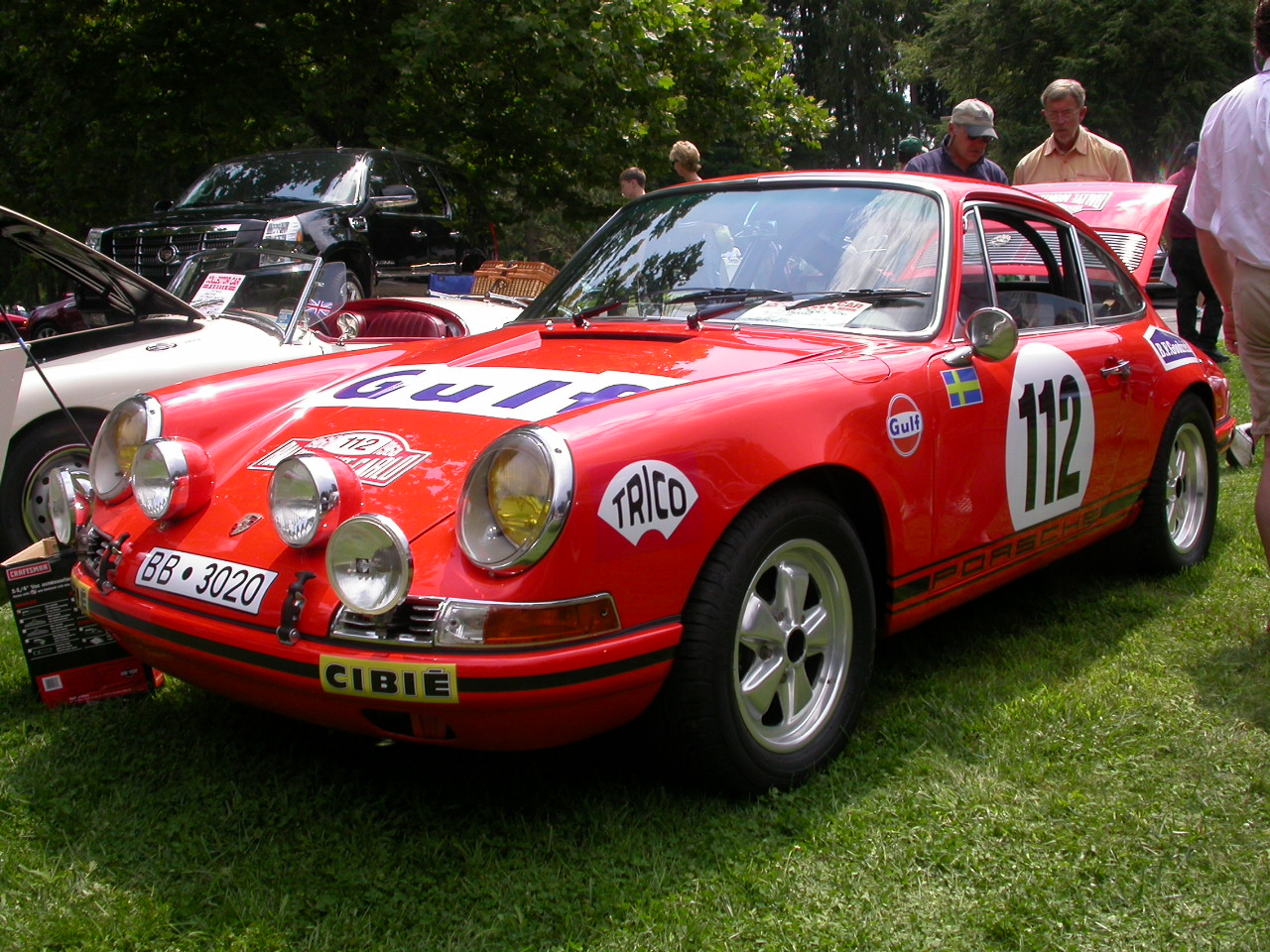 1968 Porsche 911L Rallye