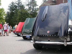 Triumphs at Saratoga Hemmings Show