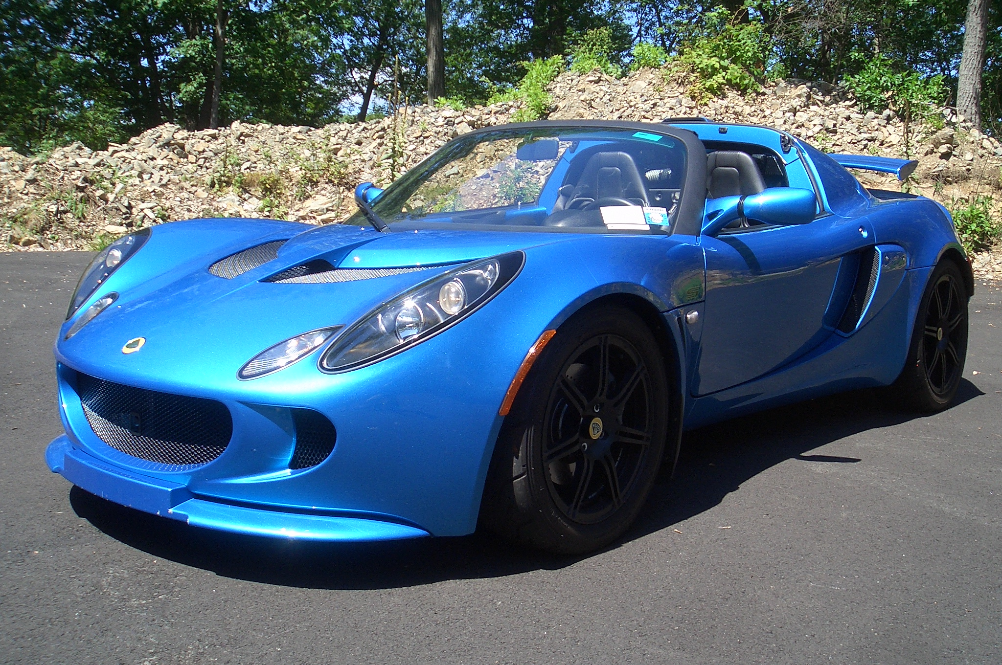 2007 Lotus Exige S with just