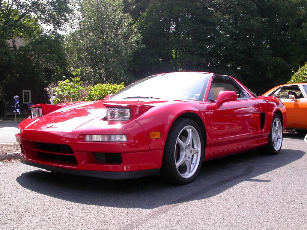 Red Acura NSX   Acura Sports Cars