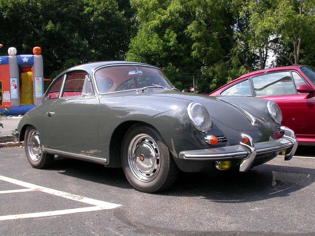 Porsche 356 in Slate color