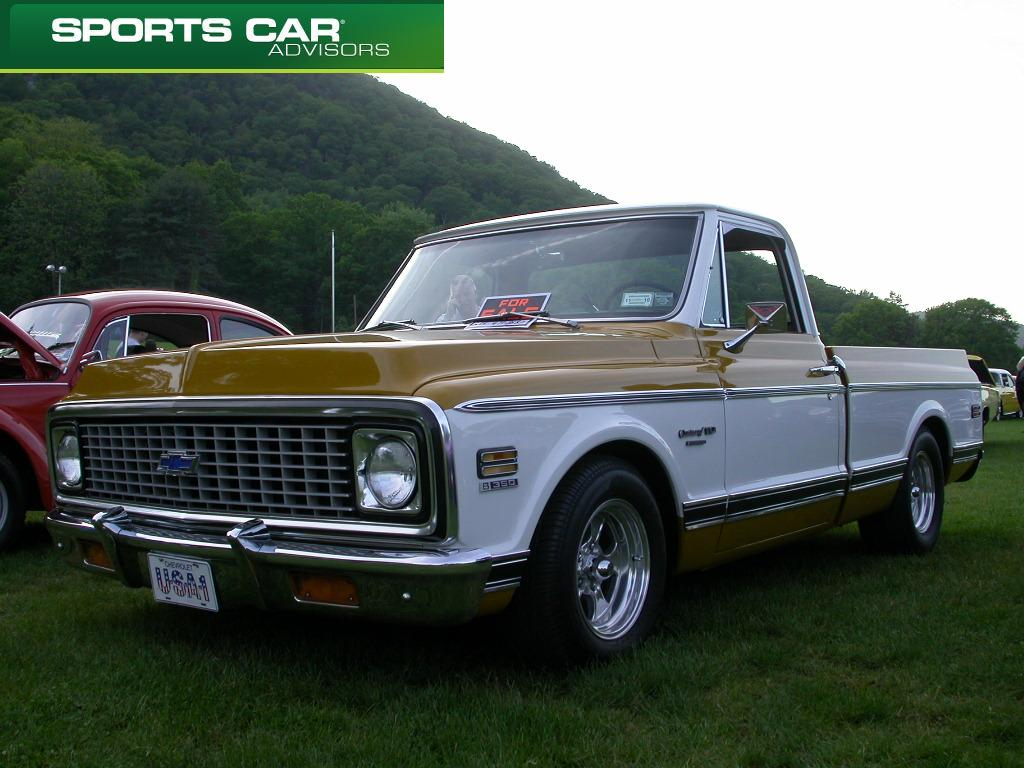 Classic Chevy Pick Up Bear Mountain Pictures